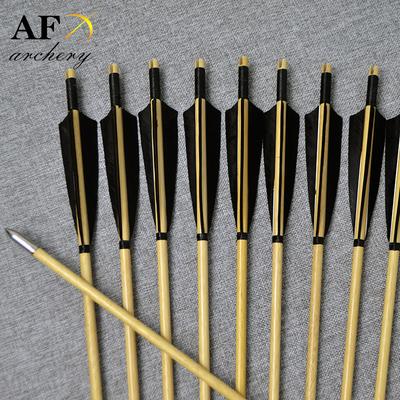 white wooden arrow
