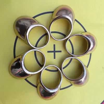 copper thumb rings